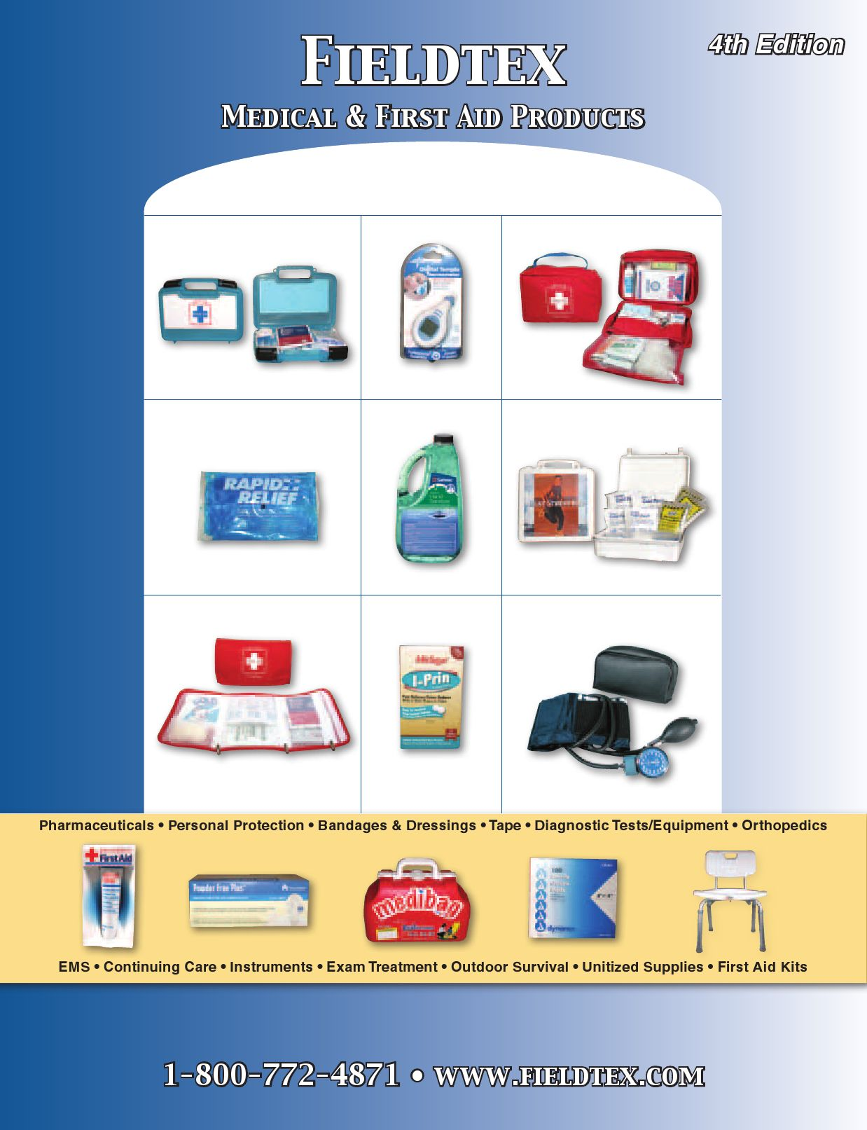 First Aid Kits Medical Supplies Catalog By Fieldtex Products Inc 10113 Painless Fuse Box Issuu