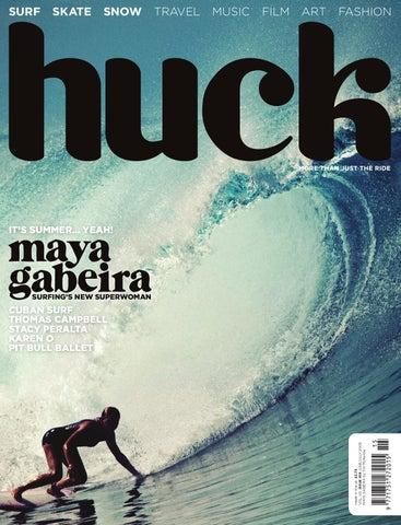 6445abf546c53f HUCK magazine - The Maya Gabeira issue (Digital Edition) by ...