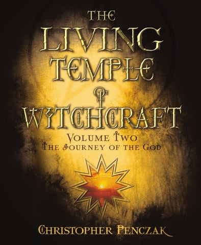 The Living Temple Of Witchcraft Volume One By Llewellyn Worldwide
