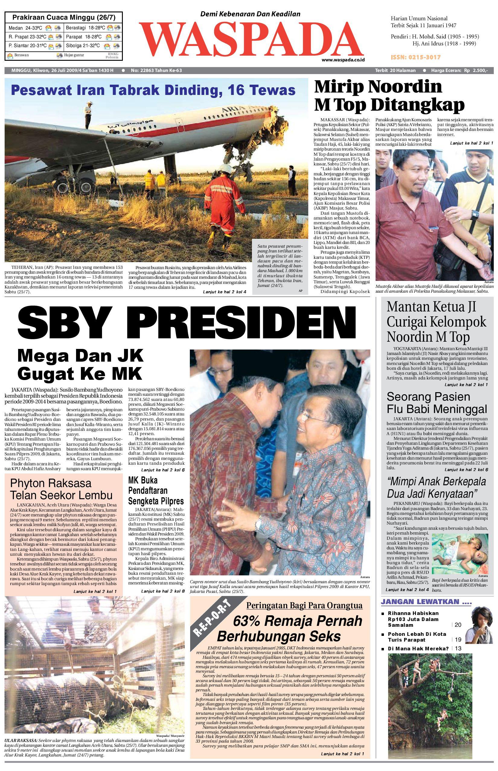 Waspada Daily By Harian Issuu Krezi Kamis 29 Jam Tangan Usb Mancis Keren