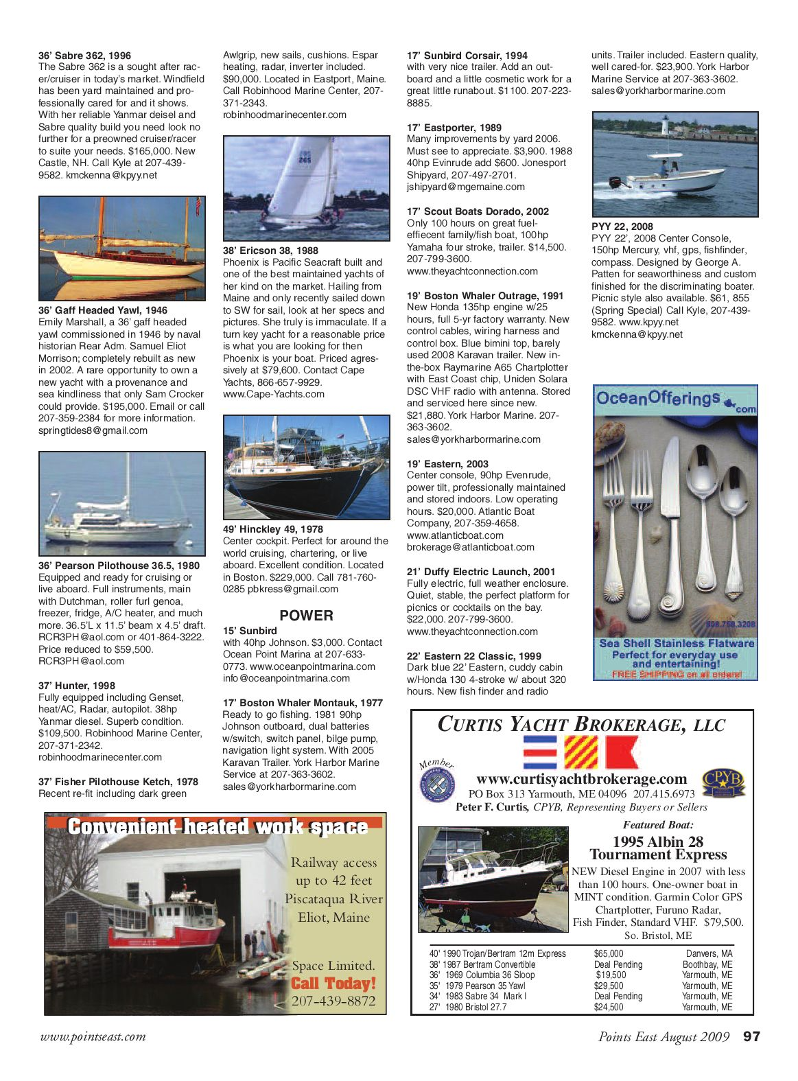 Points East Magazine August By Issuu Boston Whaler Wiring Harness