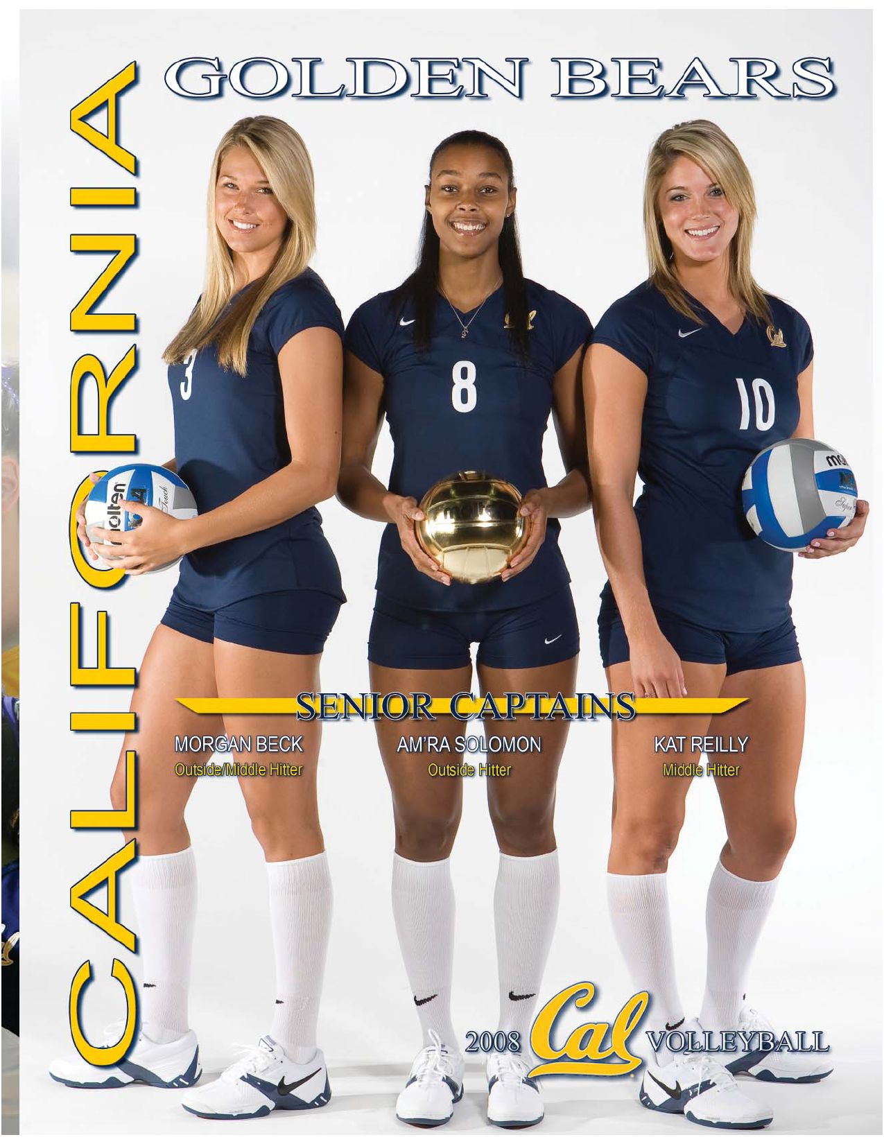2008 California Volleyball Information Guide By Cal Media Relations Issuu