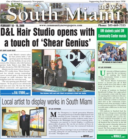 South Miami News - Online, February 10, 2009 Edition - Local