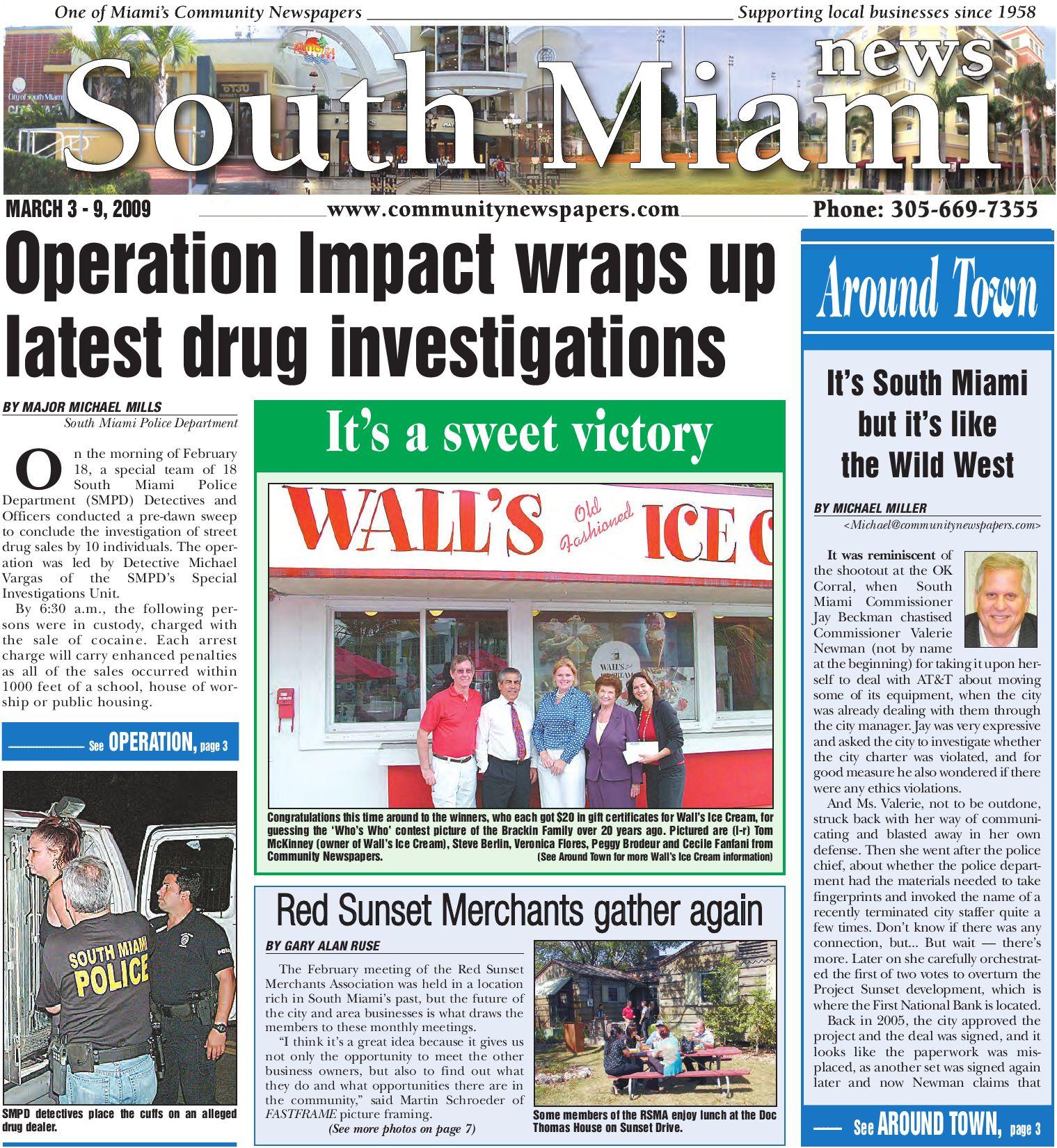 South Miami News - Online, March 3, 2009 Edition - Local