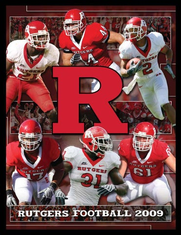 6d2625e0e9a Rutgers Football 2009 Media Guide by Rutgers Athletics - issuu