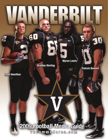 ac7725753 2009 Vanderbilt Football Media Guide by Vanderbilt Commodores - issuu