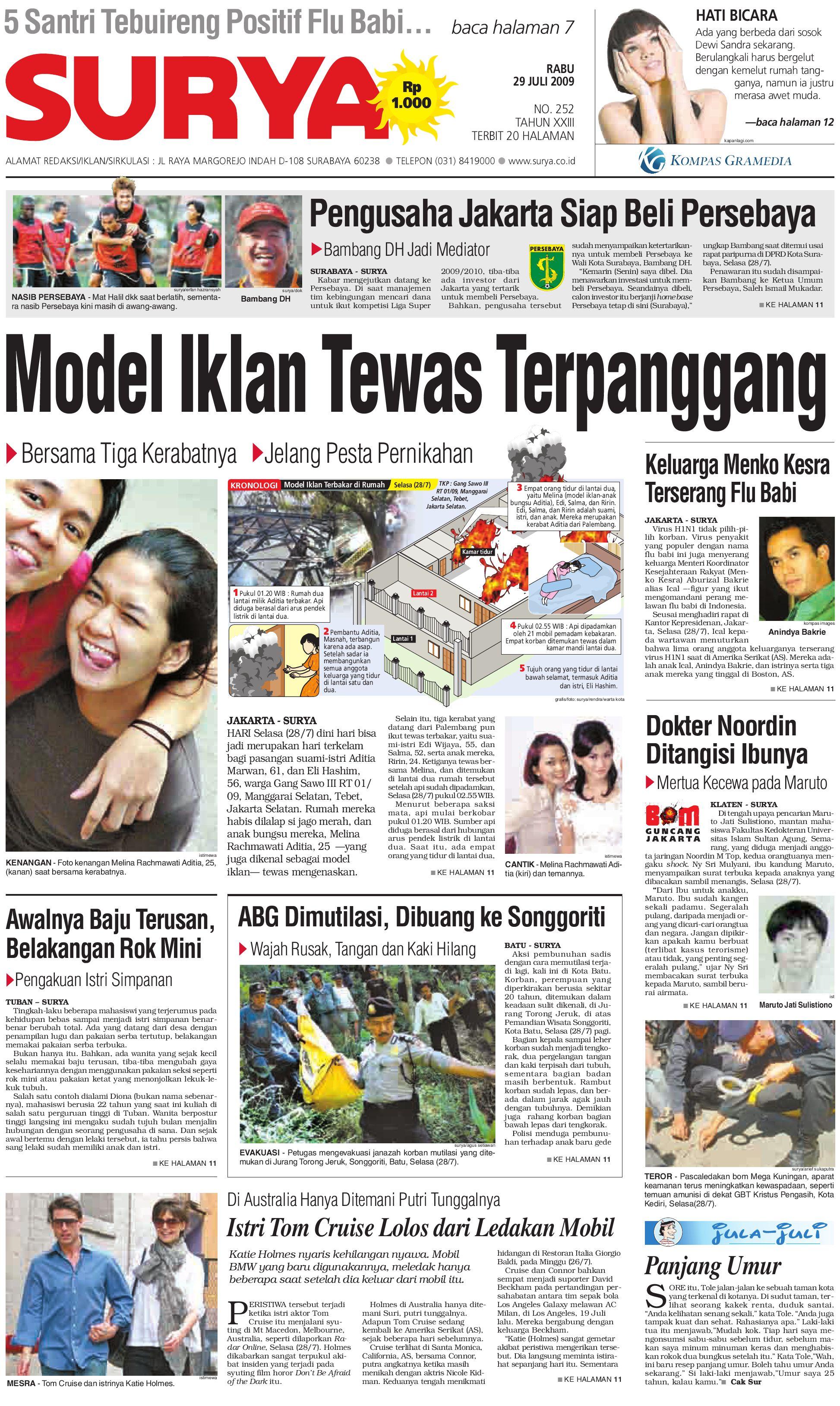 surya edisi cetak 29 juli 2009 by harian surya issuu