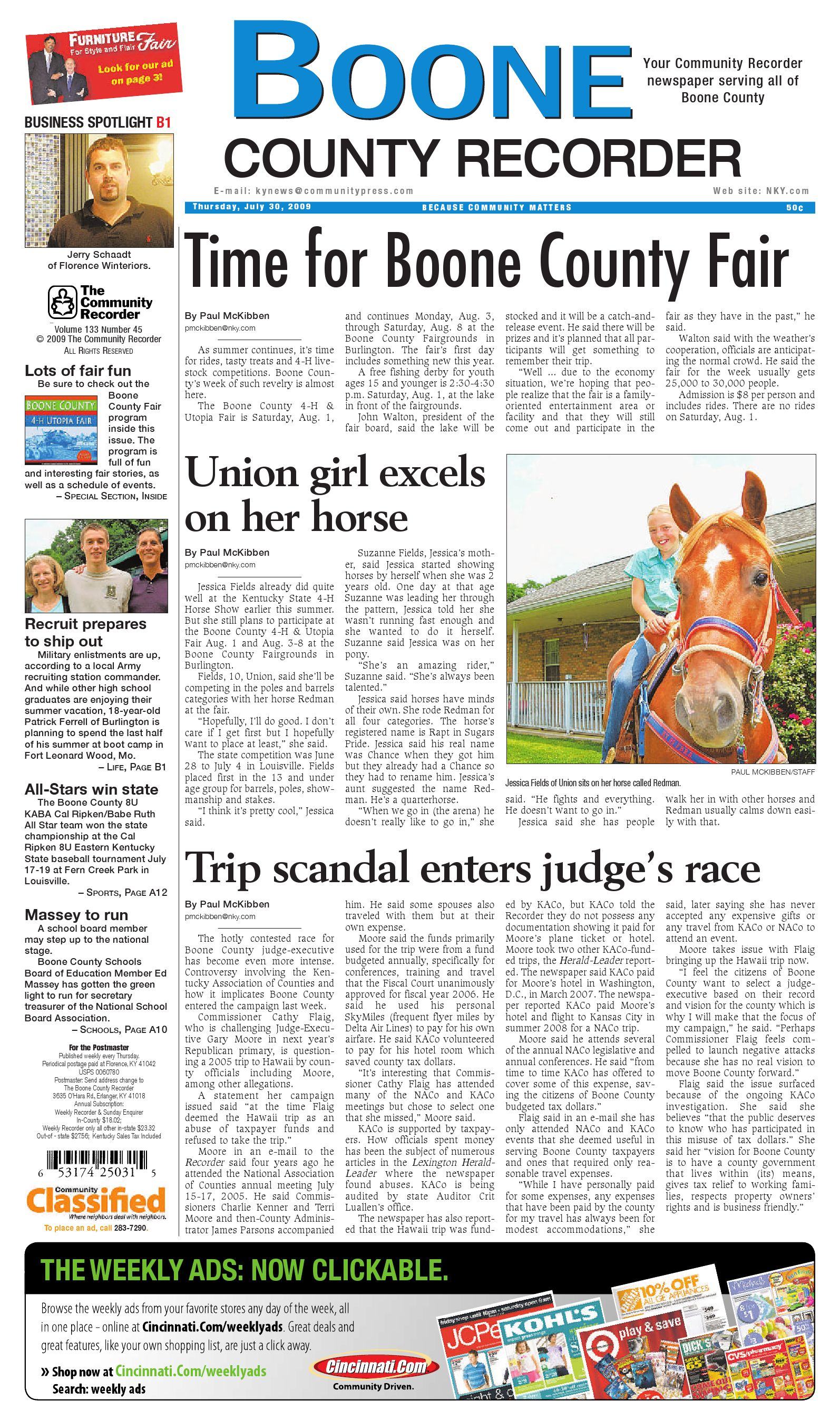 0d4d81c0dbf boone-county-recorder-073009 by Enquirer Media - issuu