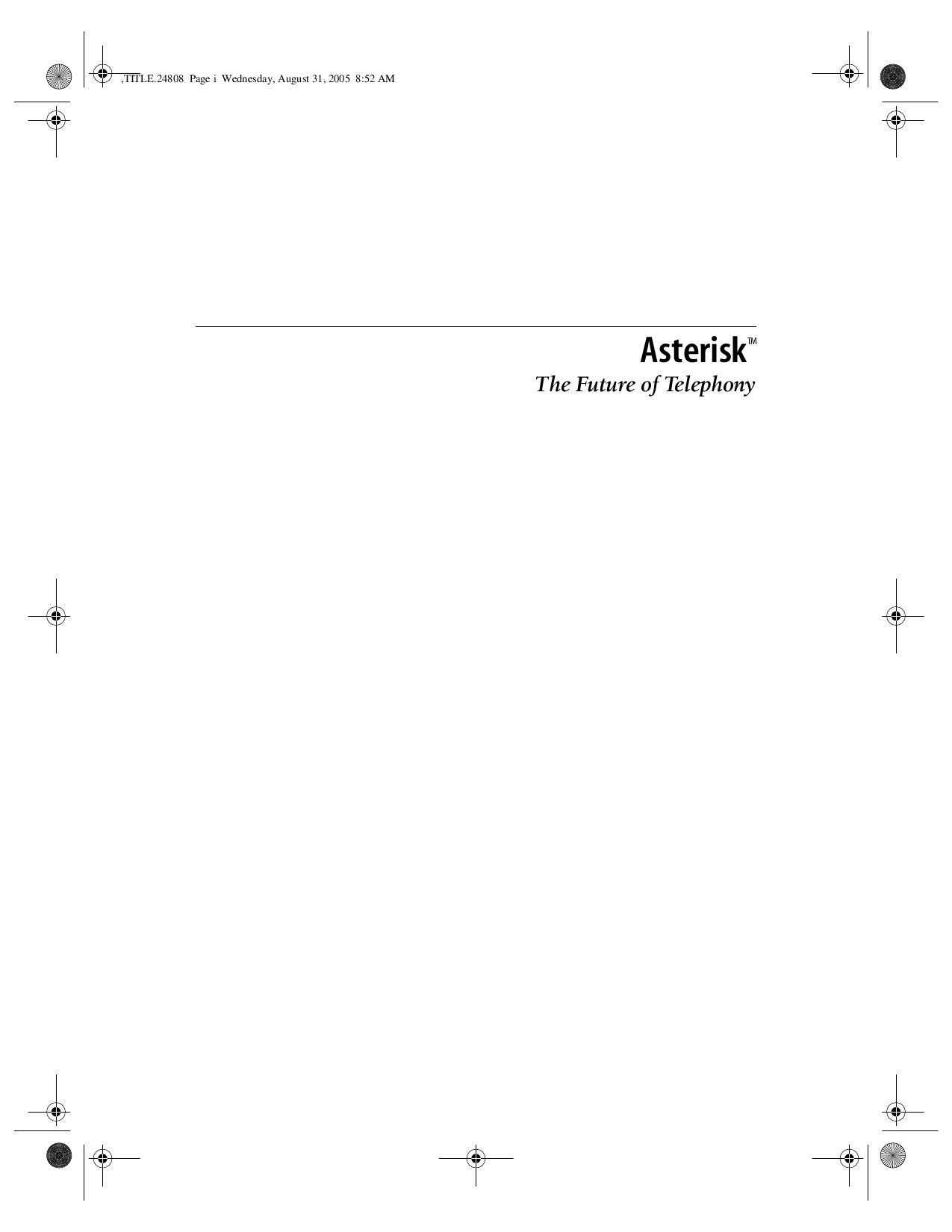 Asterisk o Futuro da Telefonia by Marcos Toledo - issuu