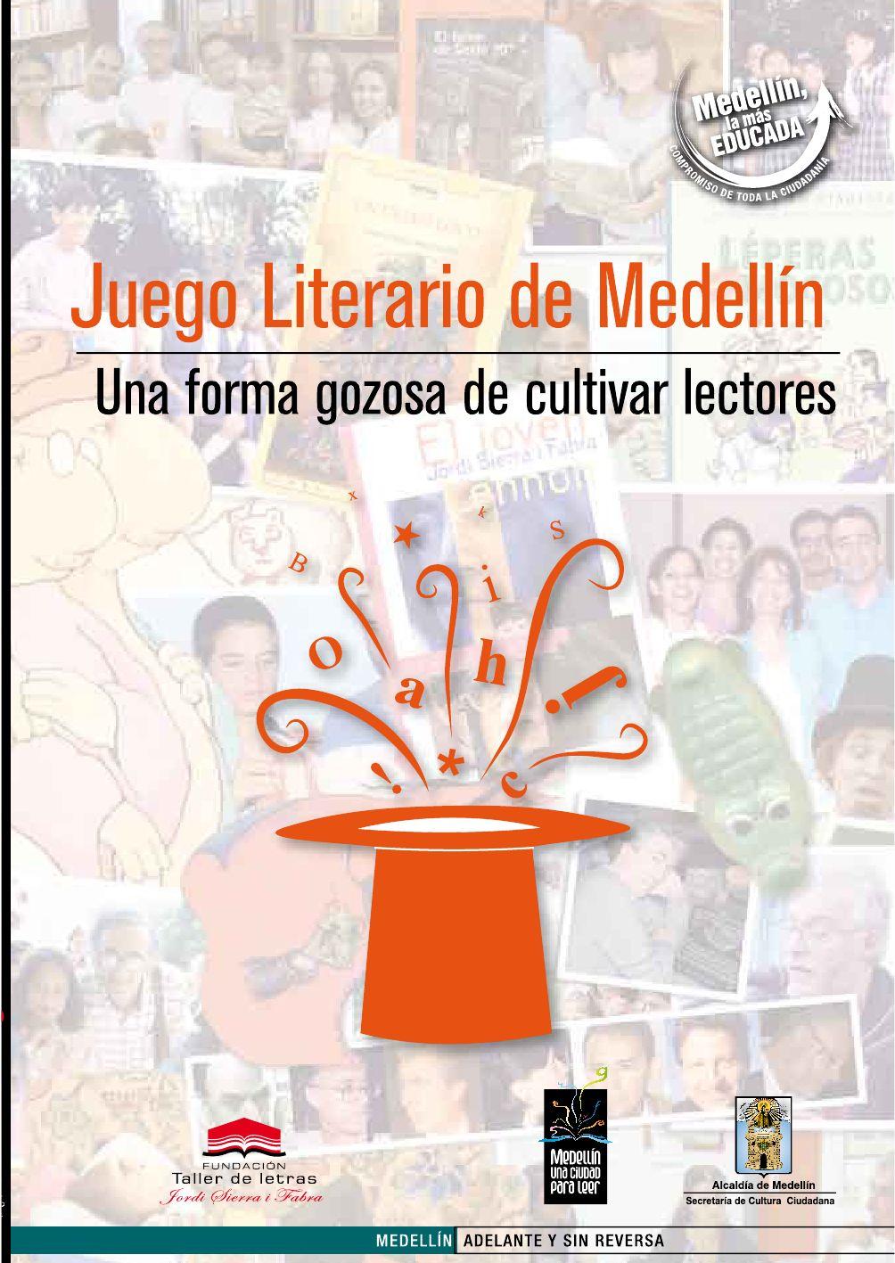 Libro Juego Literario de Medellín by Revista Literaria El Conde ...
