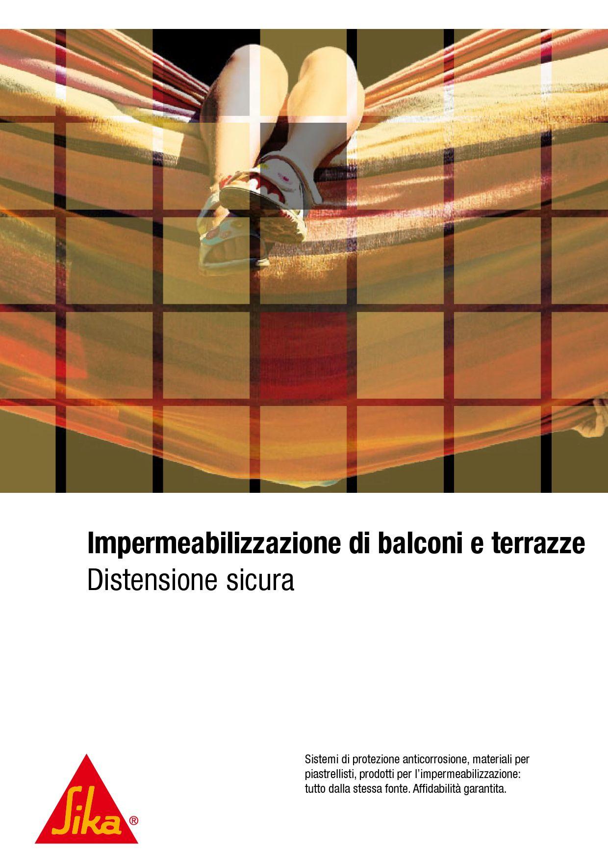 Impermeabilizzazione balconi e terrazzi by max max issuu - Impermeabilizzazione balconi ...