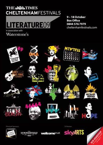 00dbebffc78 The Times Cheltenham Literature Festival brochure 2009 by Cheltenham ...