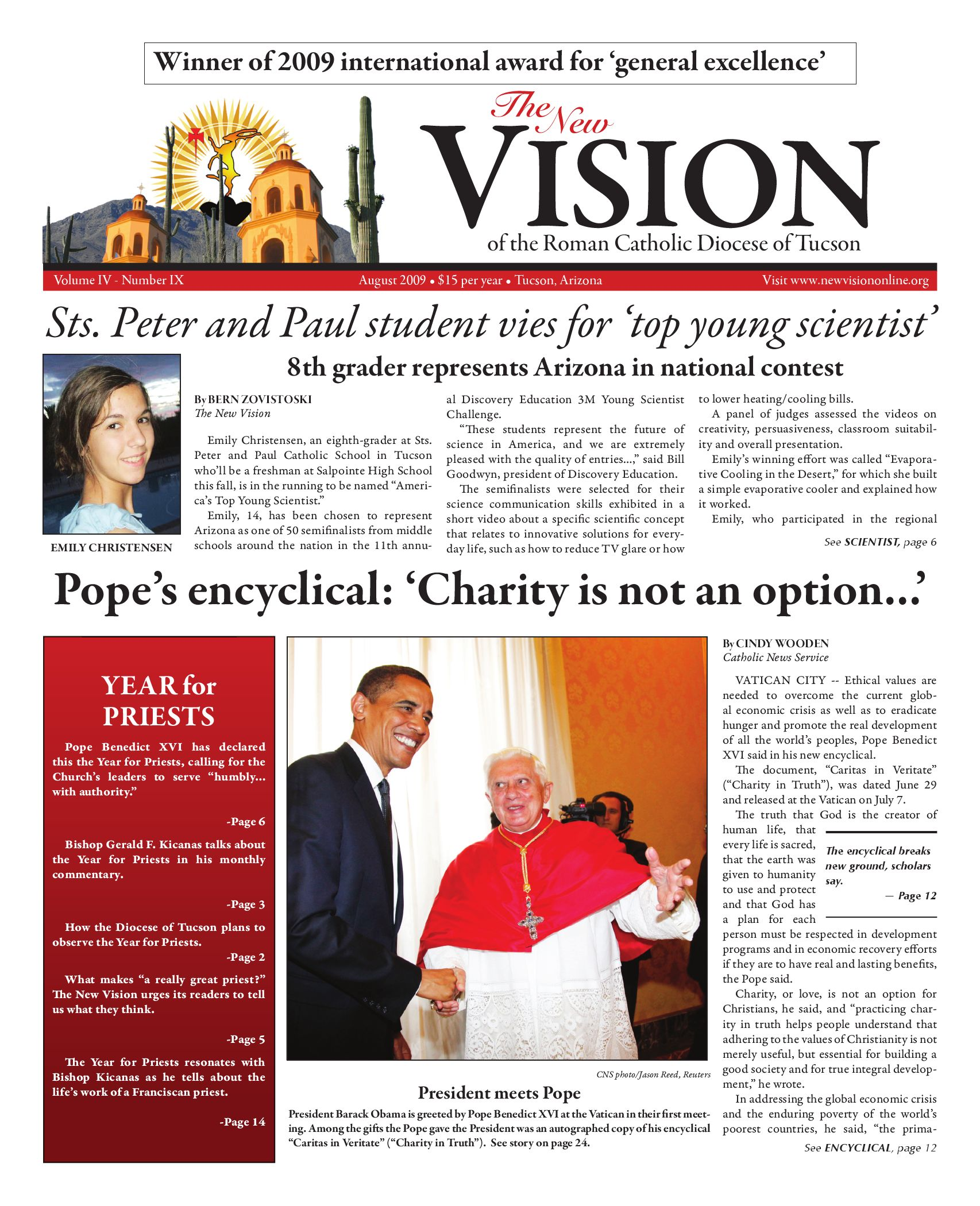 August Issue 2009 by The New Vision - issuu
