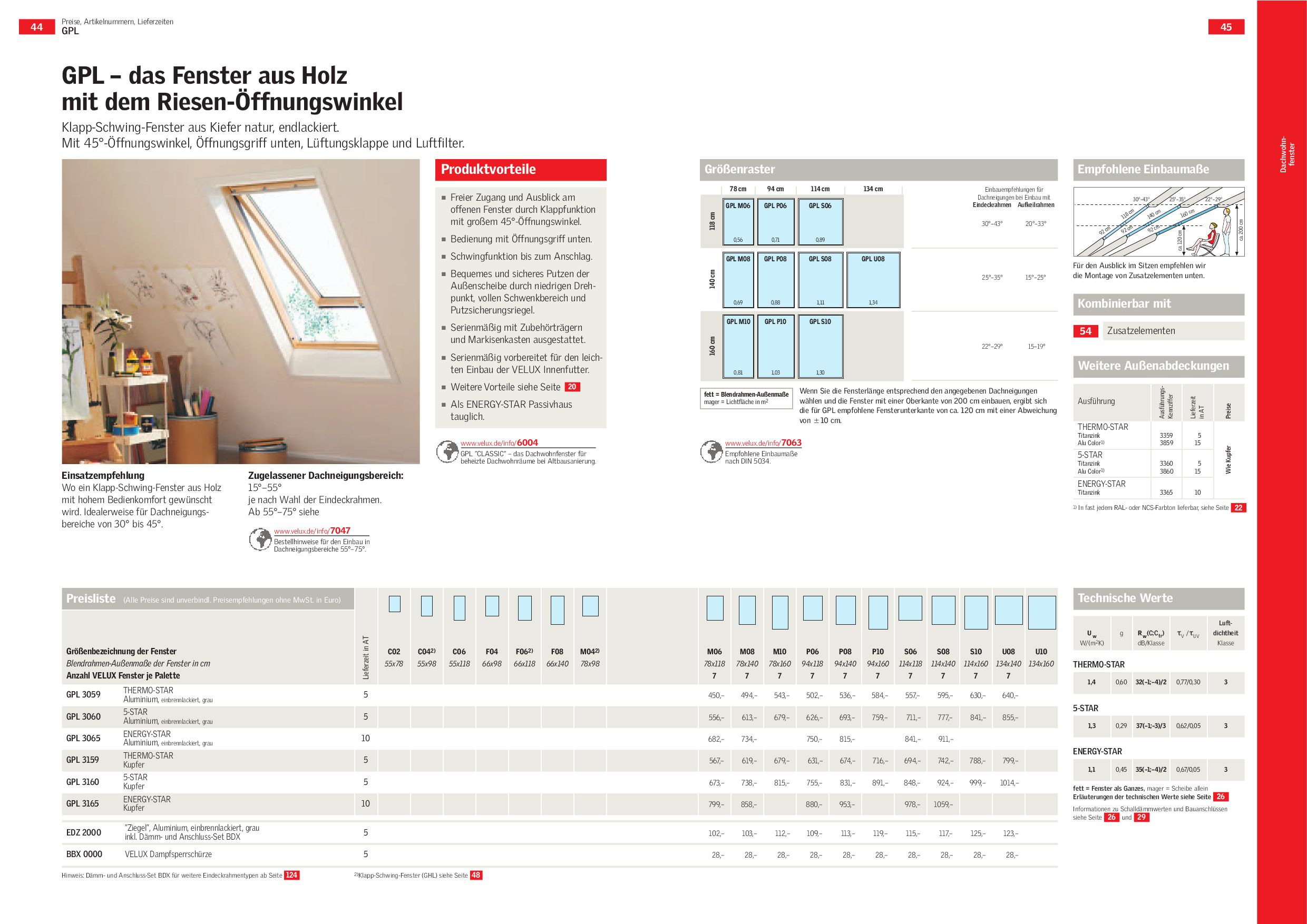 velux katalog 2009 by fenstertue issuu. Black Bedroom Furniture Sets. Home Design Ideas