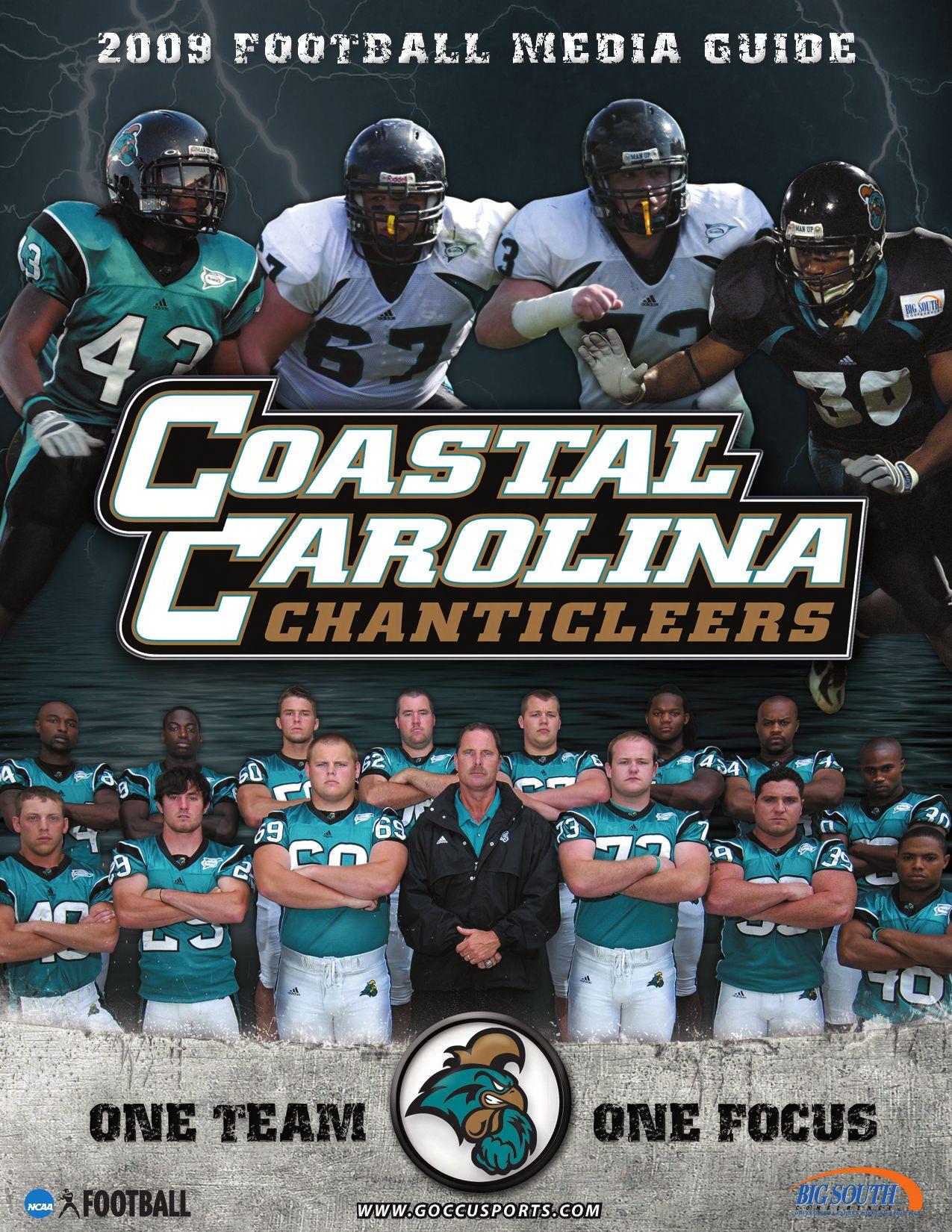 2009 Coastal Carolina University Football Media Guide By Coastal Carolina University Athletics Issuu