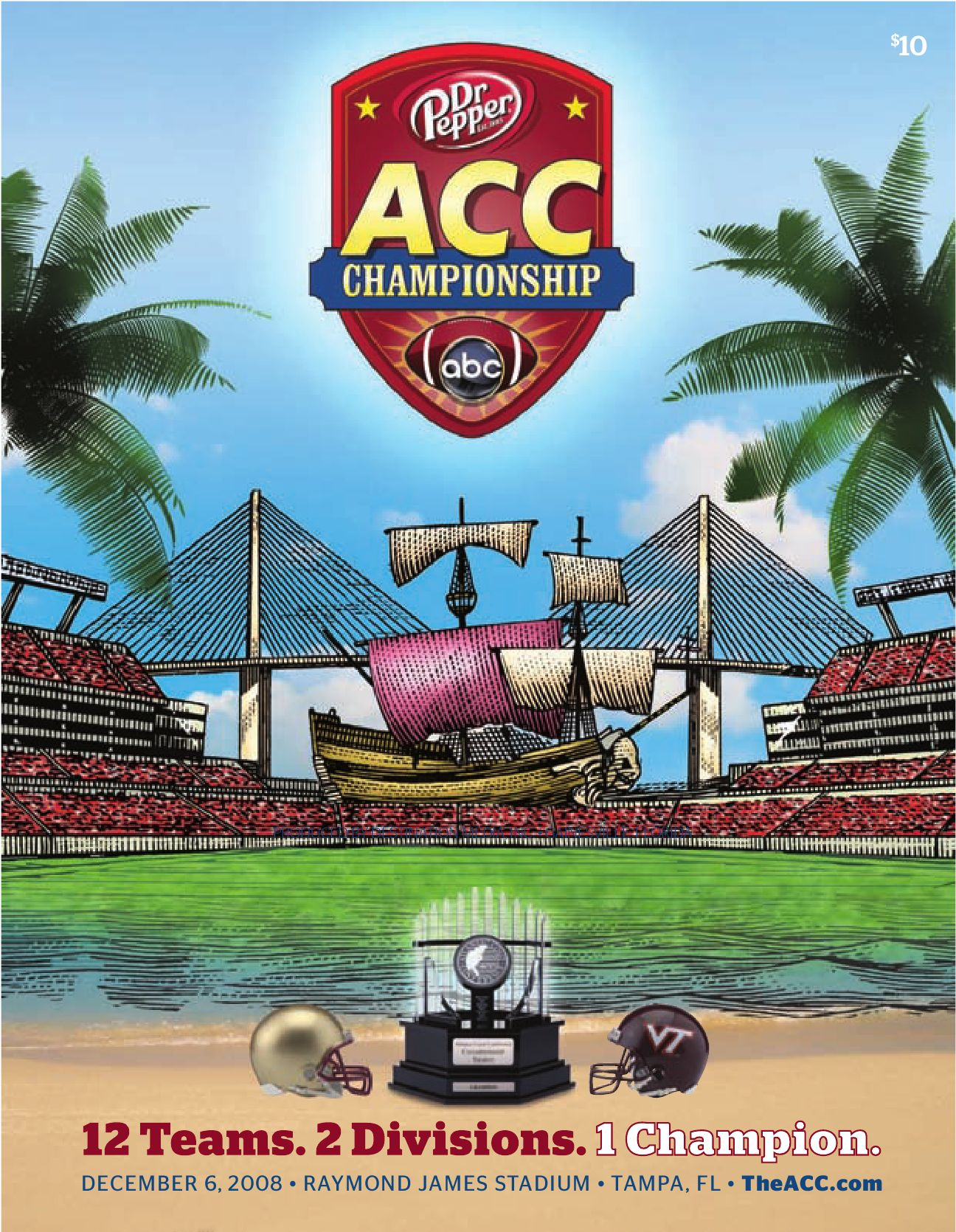 2008 ACC Championship Game Program by Atlantic Coast