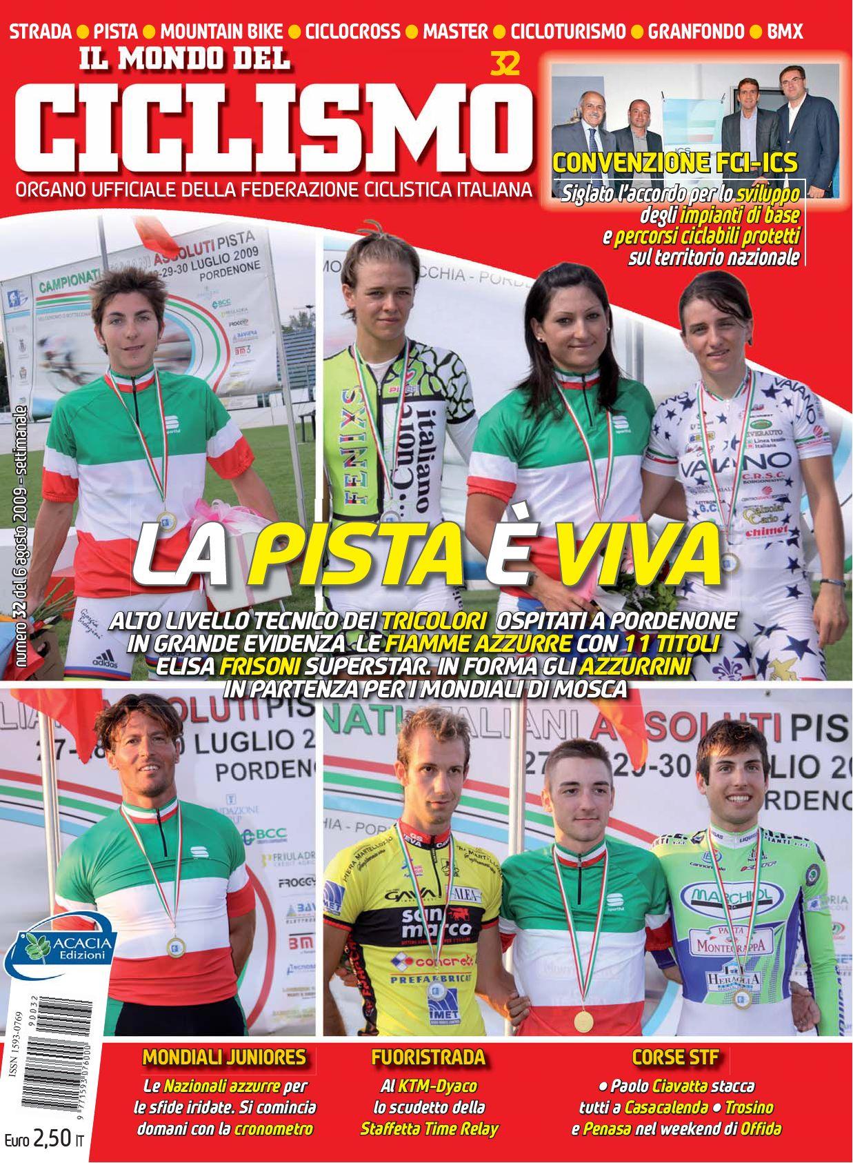 N 32 2009 De Il Mondo Del Ciclismo By Federciclismo Issuu