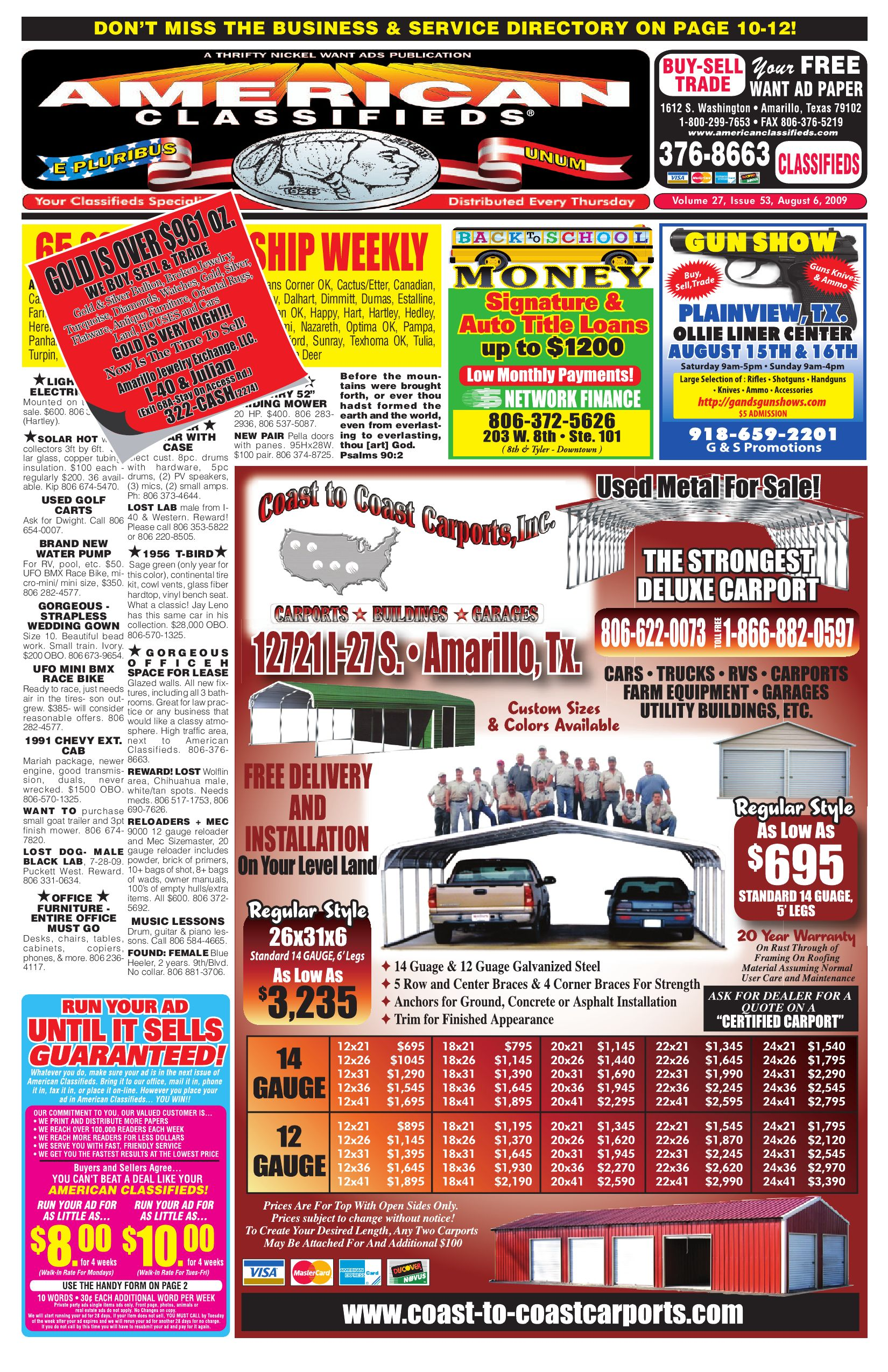 American Classifieds Amarillo Tx By Issuu Diagram Of Honda Atv Parts 2001 Trx250 A Trailer Hitch