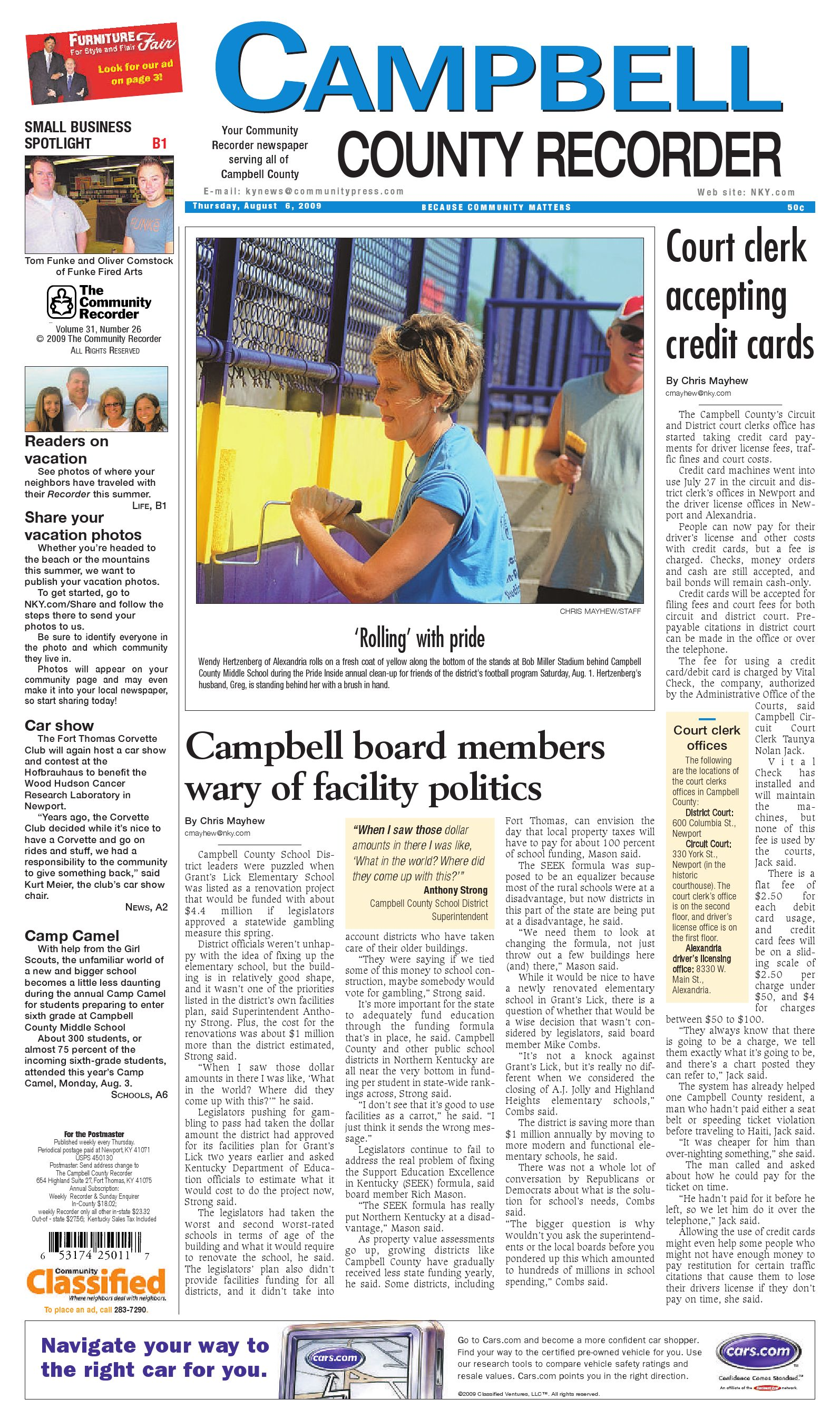campbell-county-recorder-080609 by Enquirer Media - issuu