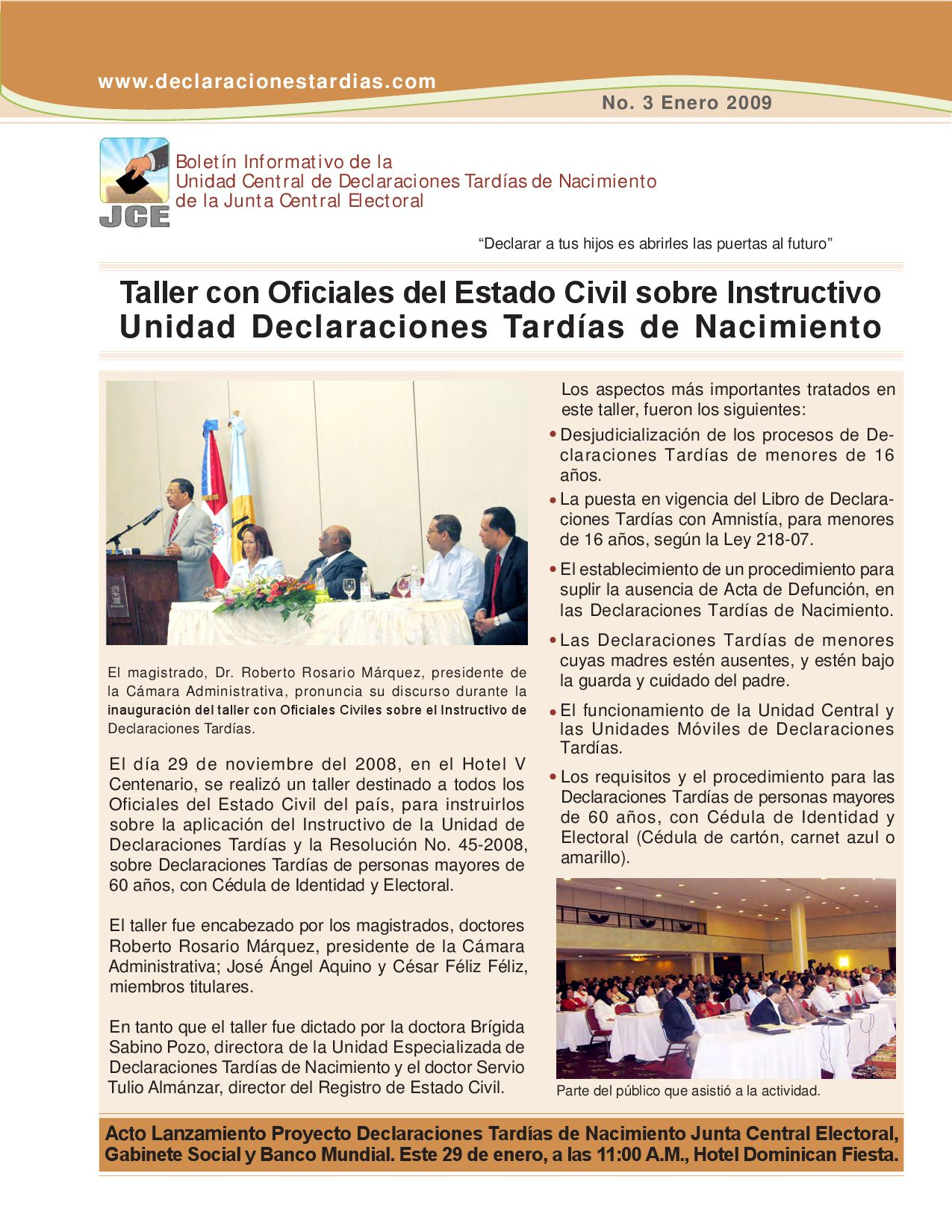 BOLETIN+UCDT+No.+3 by Junta Central Electoral (JCE) - issuu