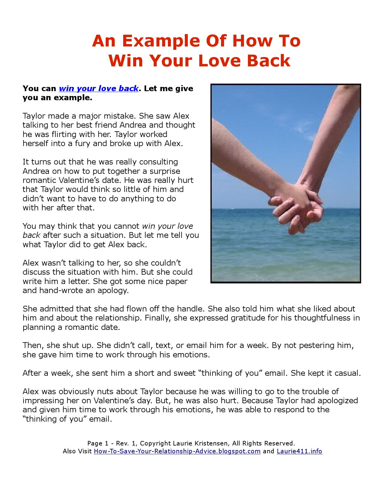 how to win your love back