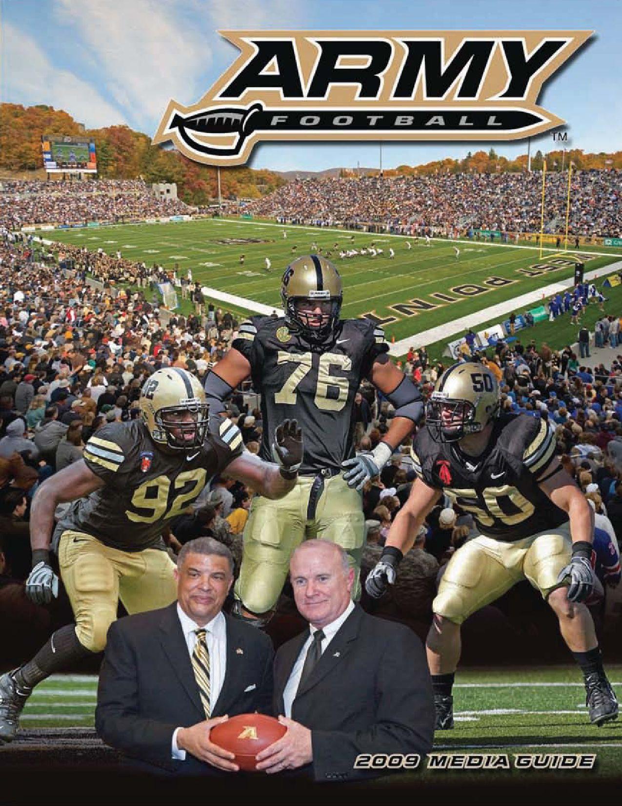 2009 Army Football Media Guide by Army West Point Athletics - issuu 85b0a123f