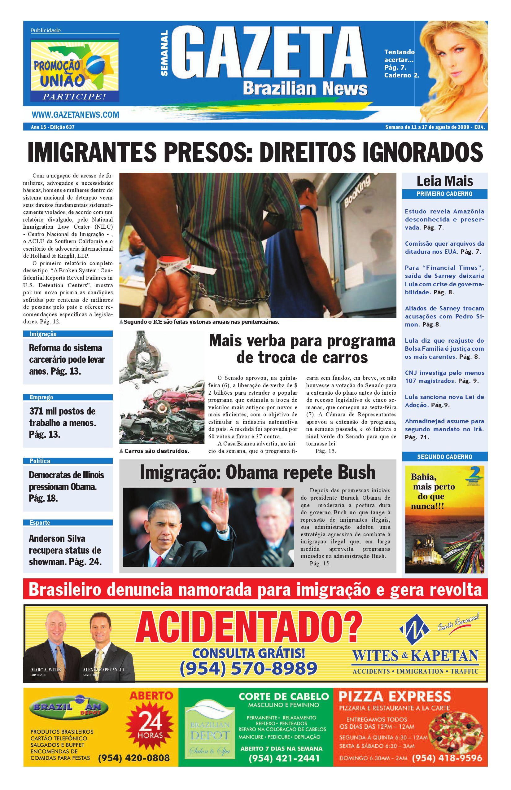 211611cad61 Edição 637 by Gazeta Brazilian News - issuu