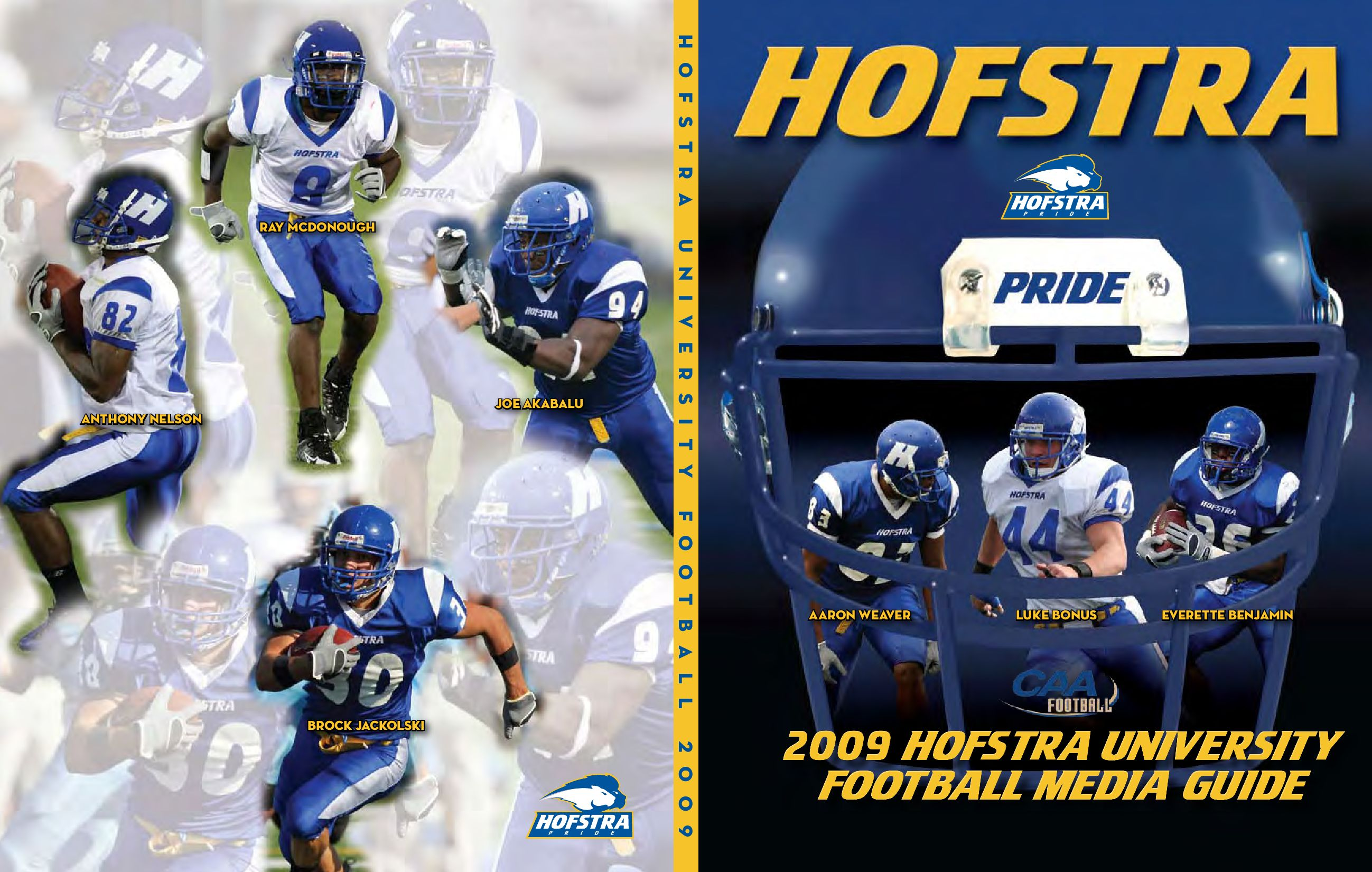 2009 Hofstra University Football Media Guide by Hofstra