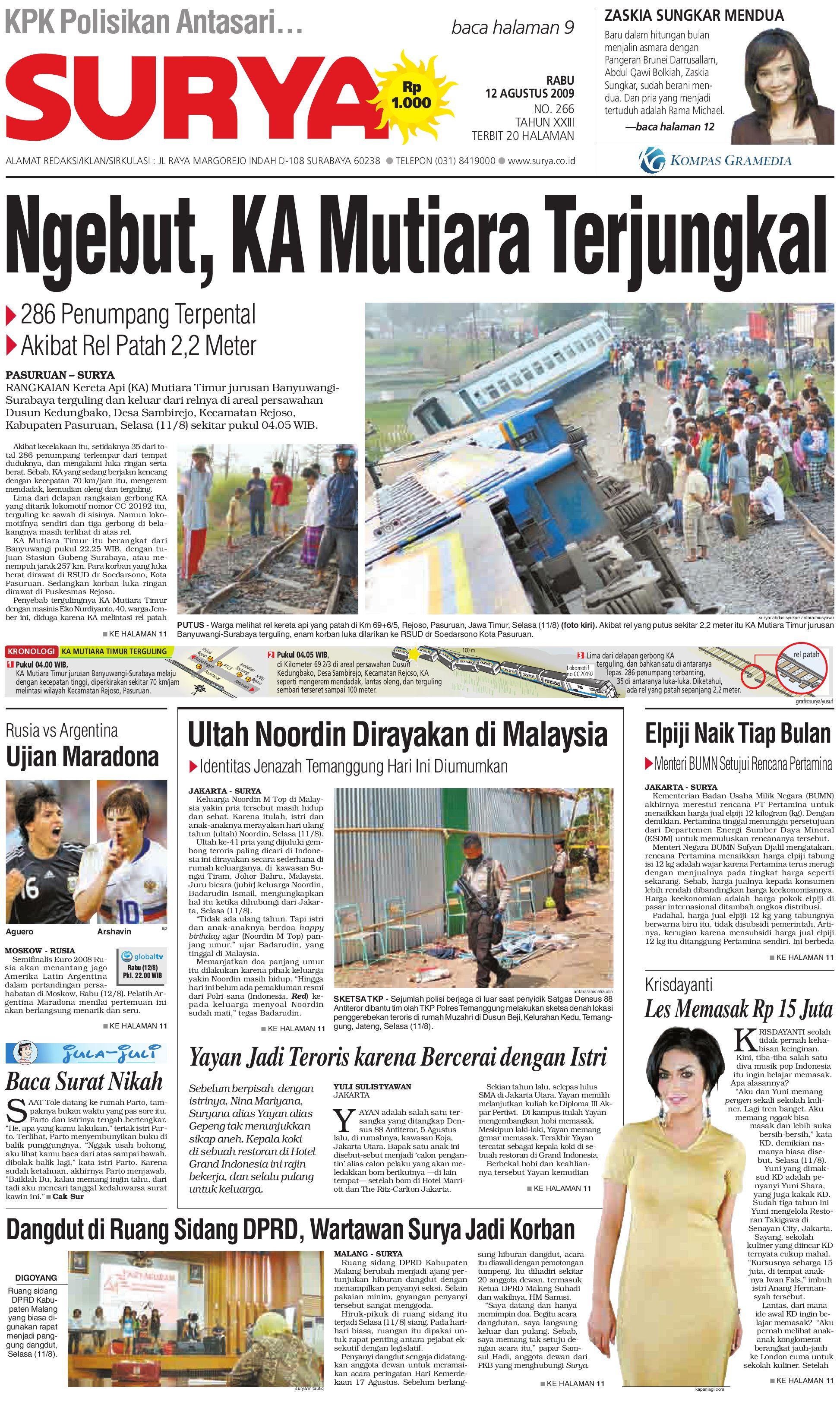 Surya Edisi Cetak 12 Agt 2009 By Harian Issuu Produk Ukm Bumn Tas Phiton Kembang Orchid