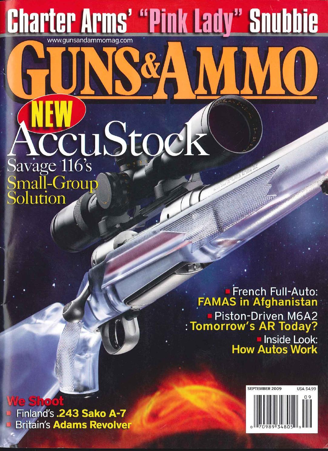"""High Plains Pentathlon"" by Craig Boddington. Guns & Ammo, September 2009."