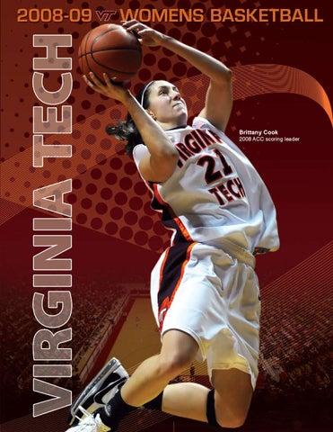 00d7361a8f6 2008-09 Virginia Tech Women s Basketball Media Guide by Virginia ...