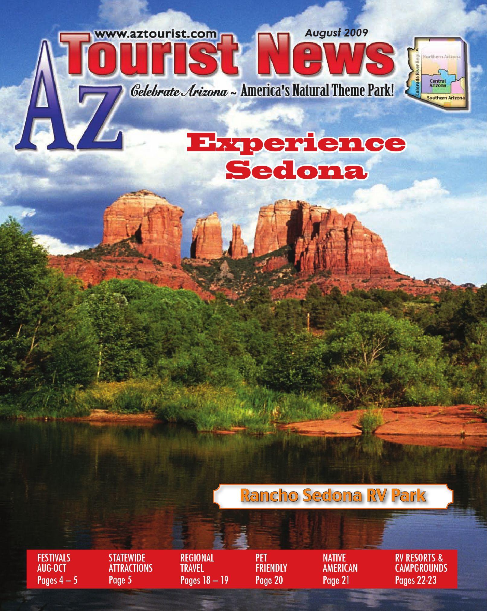 AzTourist August 2009 by Az Tourist News - issuu