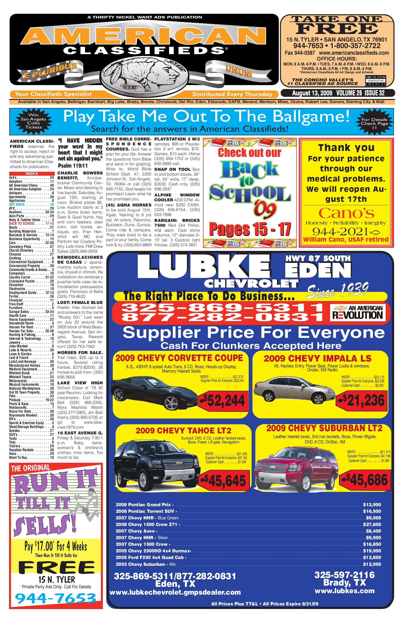ca4958256 San Angelo American Classifieds by San Angelo American Classifieds - issuu