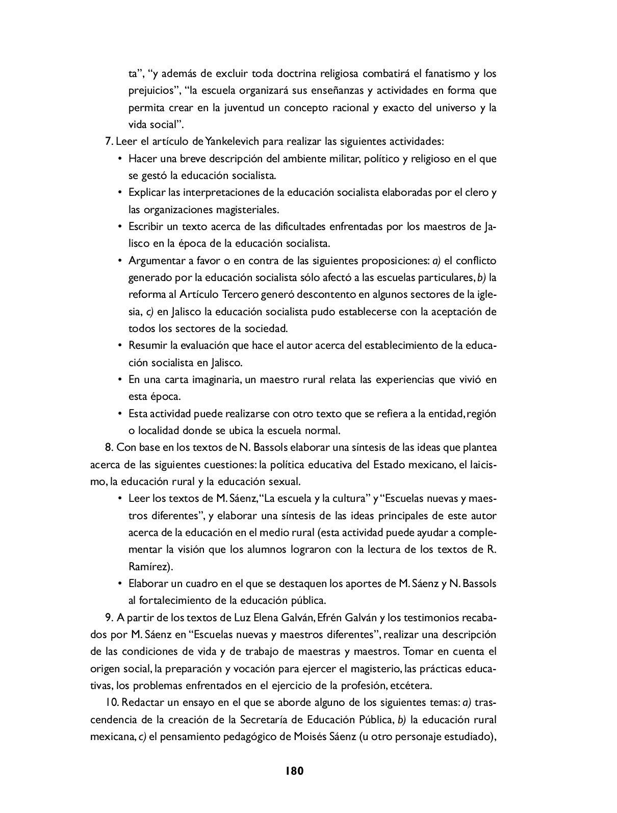 La Educación en el Desarrollo Histórico de México I. by Magdalena ...