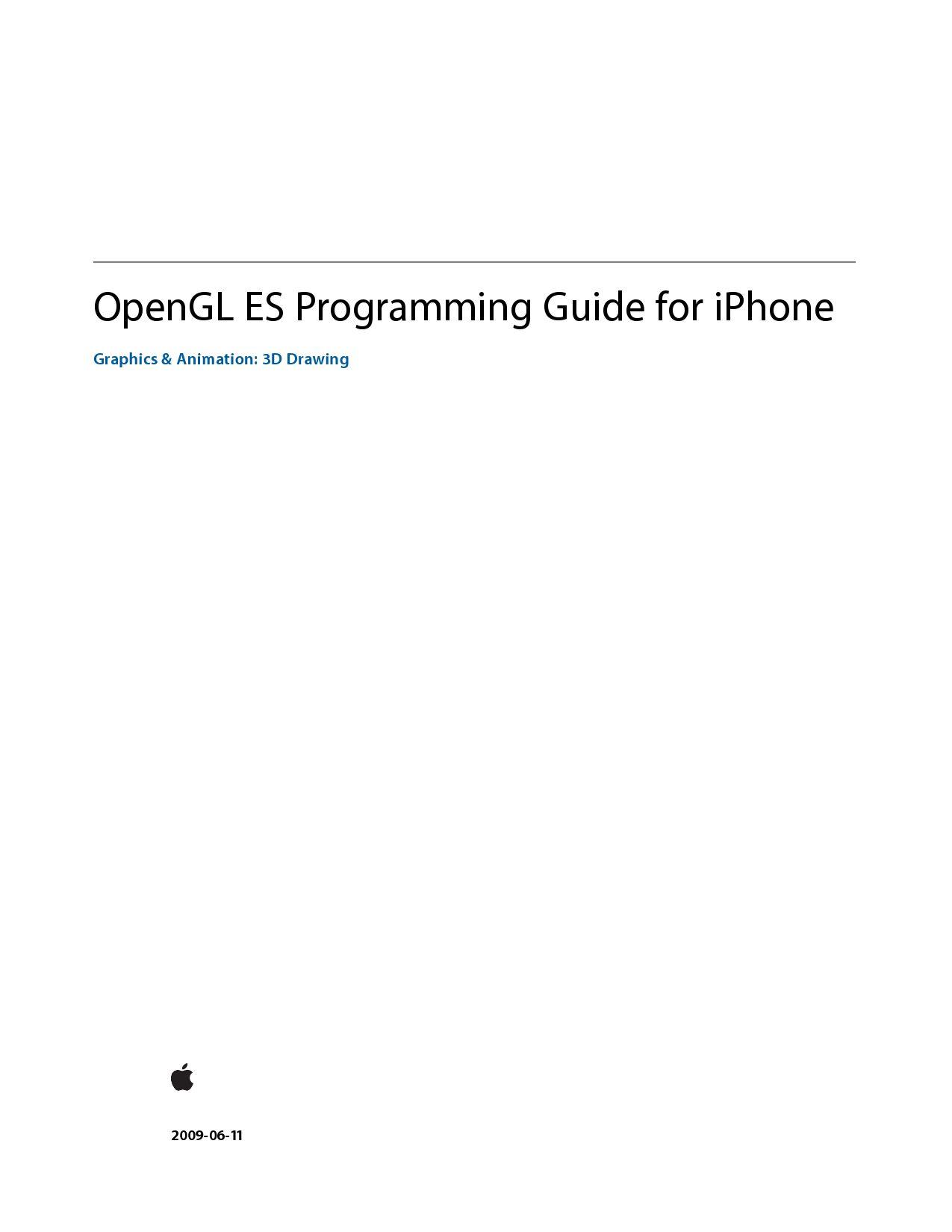 OpenGl-ES Programming Guide by Lovin Lancer - issuu