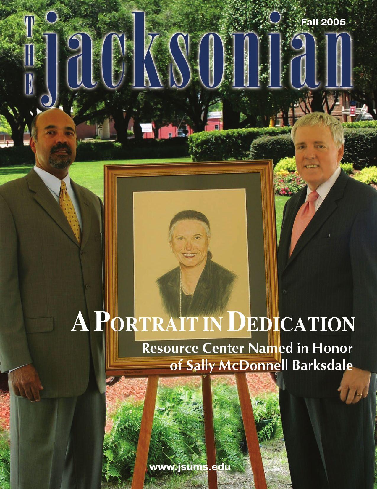 Jacksonian 2005 by Jackson State University - Issuu