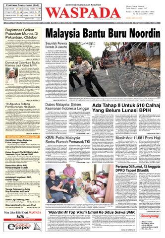 wasapada 14 agustus 2009 by Harian Waspada - issuu 49787a7496