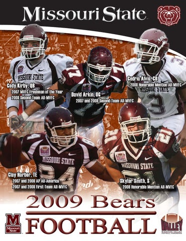 d9319cca2 2009 Missouri State Football Guide (pp 1-98) by Missouri State Bears ...