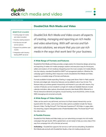 Doubleclick rich media overview by bill shaw issuu for Doubleclick rich media templates