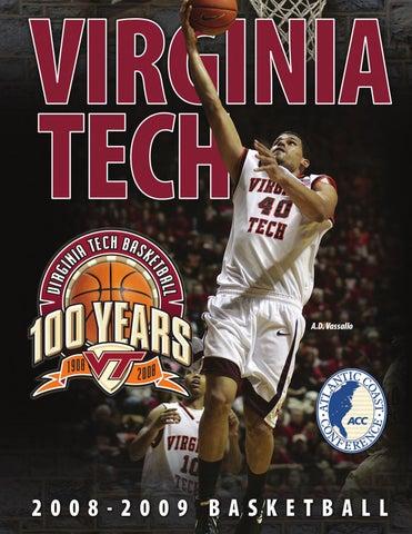 db717625c04 2008-09 Virginia Tech Men s Basketball Media Guide by Virginia Tech ...