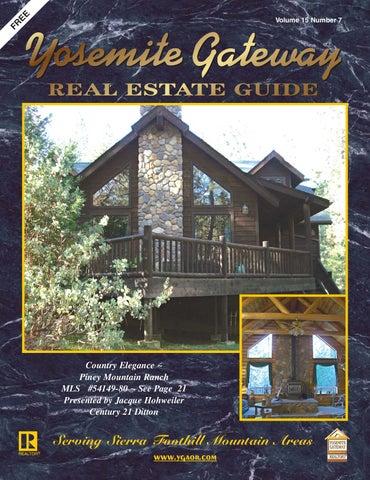 yosemite gateway real estate guide vol 15 no 7 by ibuildmagazines rh issuu com