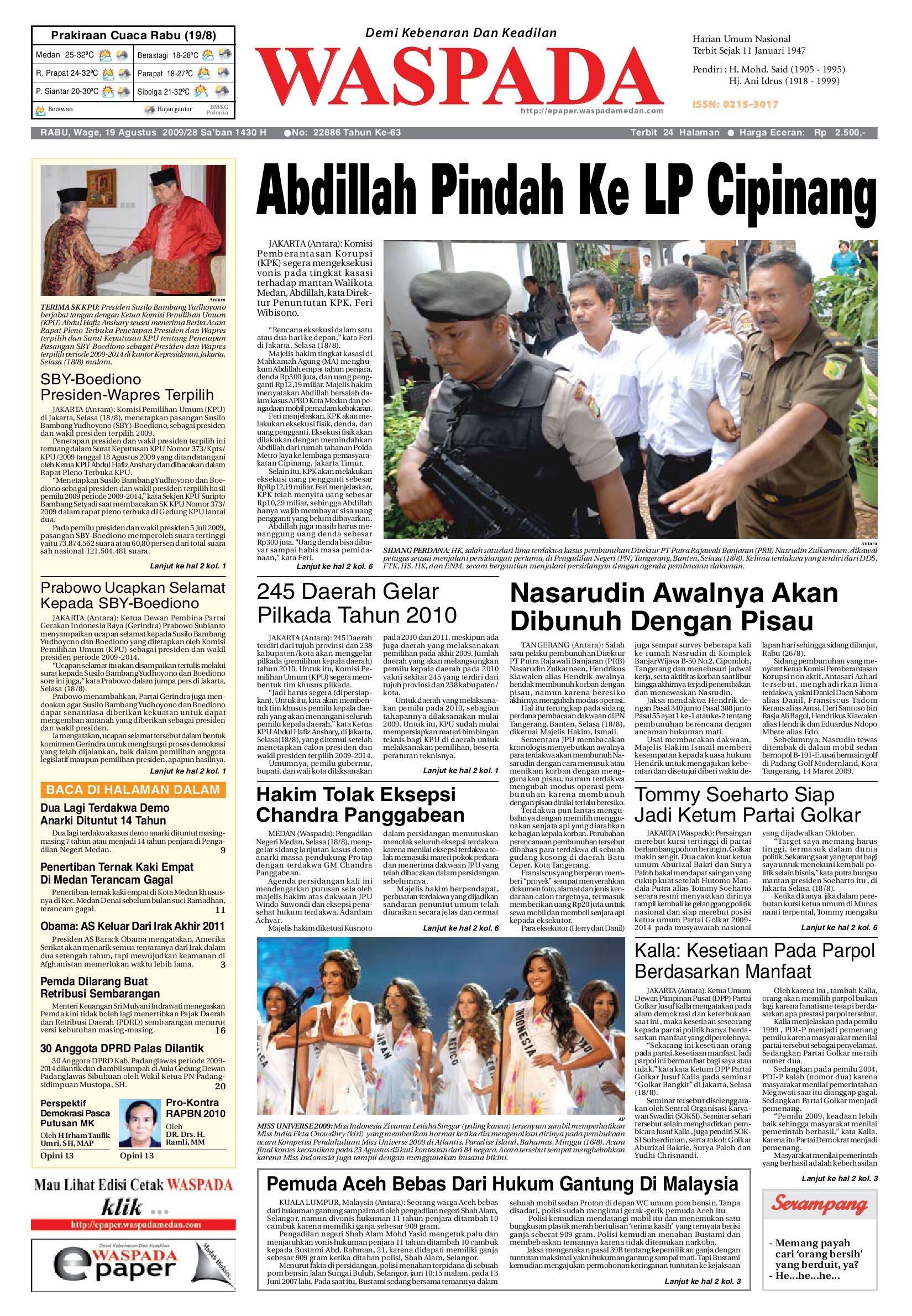 waspada kamis 30 juni 2011 by harian waspada issuu