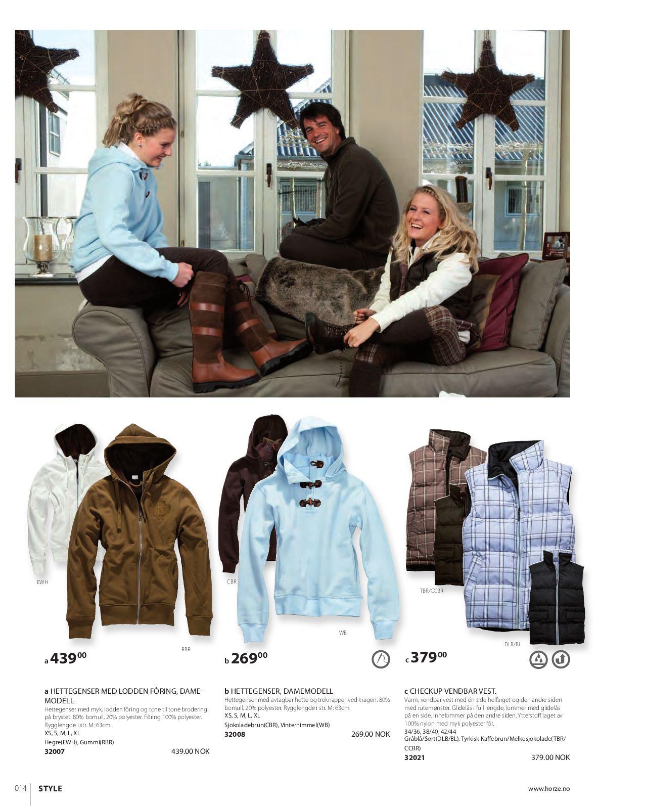 940fa7f8 Norwegian Horze Katalog Vinter 2009 by Horze - issuu