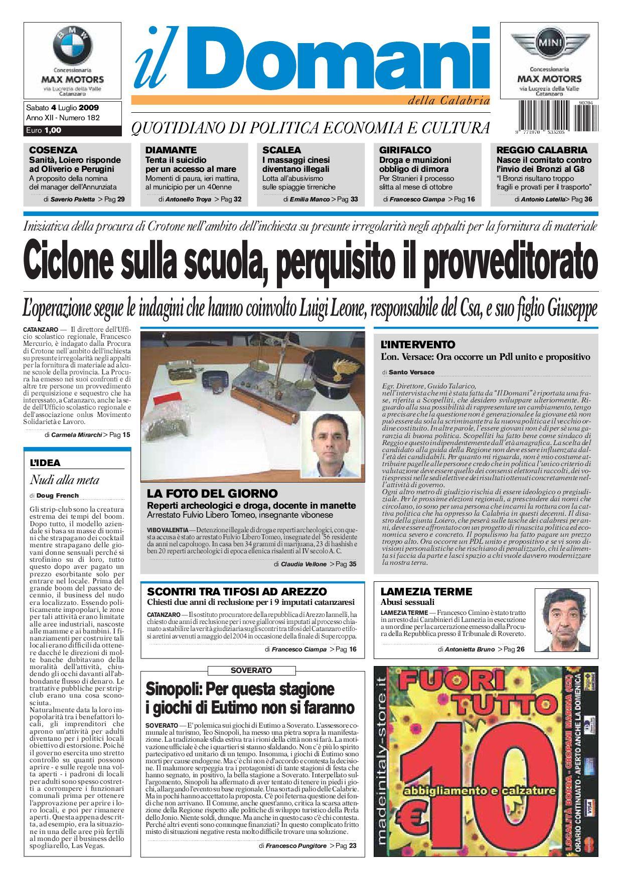 ildomani by T P Editori il Domani - issuu 859e8175a29