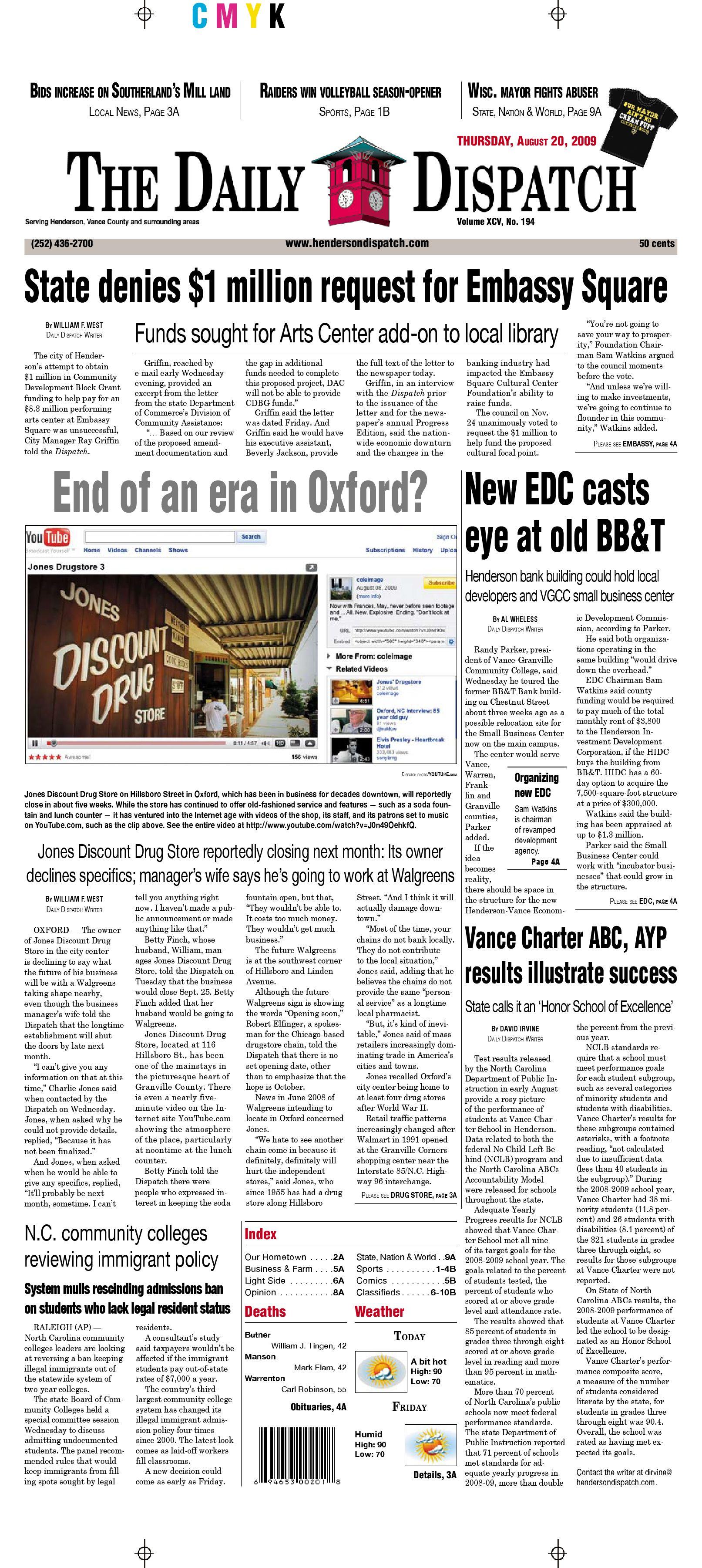 c8c8d0dc47e The Daily Dispatch - Thursday