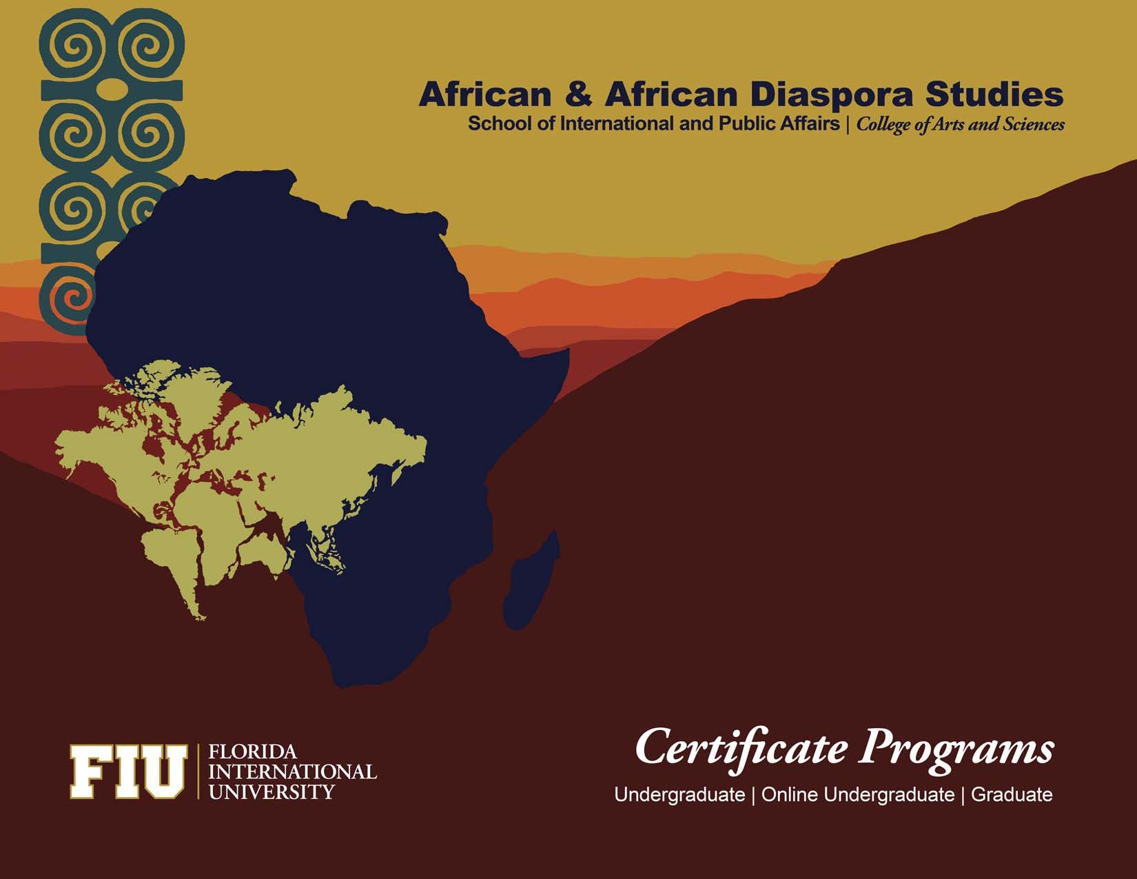 African And African Diaspora Studies Certificate Brochure By