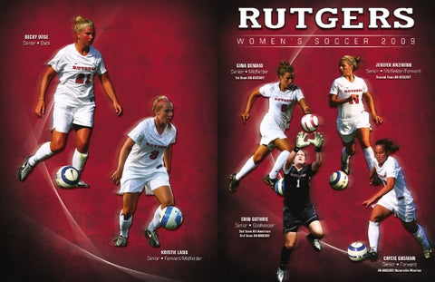 d5b11fcddb1 2009 Rutgers Women s Soccer Media Guide by Rutgers Athletics - issuu
