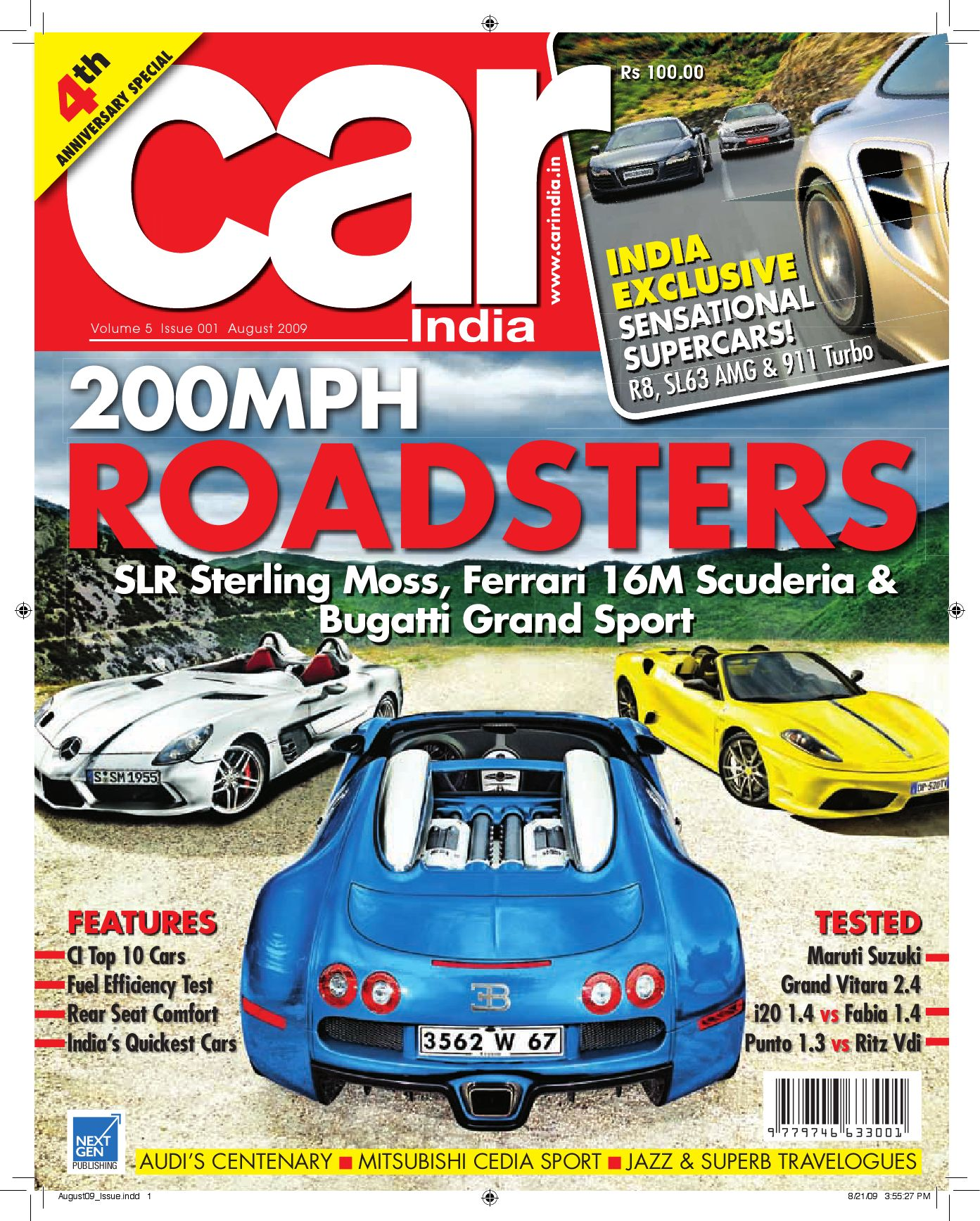 Car India Aug 2009 By Next Gen Publishing Ltd Issuu Refill Msl Brm