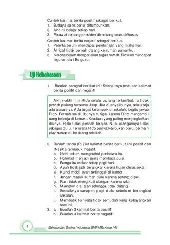 Kelas07 Bahasa Dan Sastra Indonesia 1 Maryati Sutopo By S Van