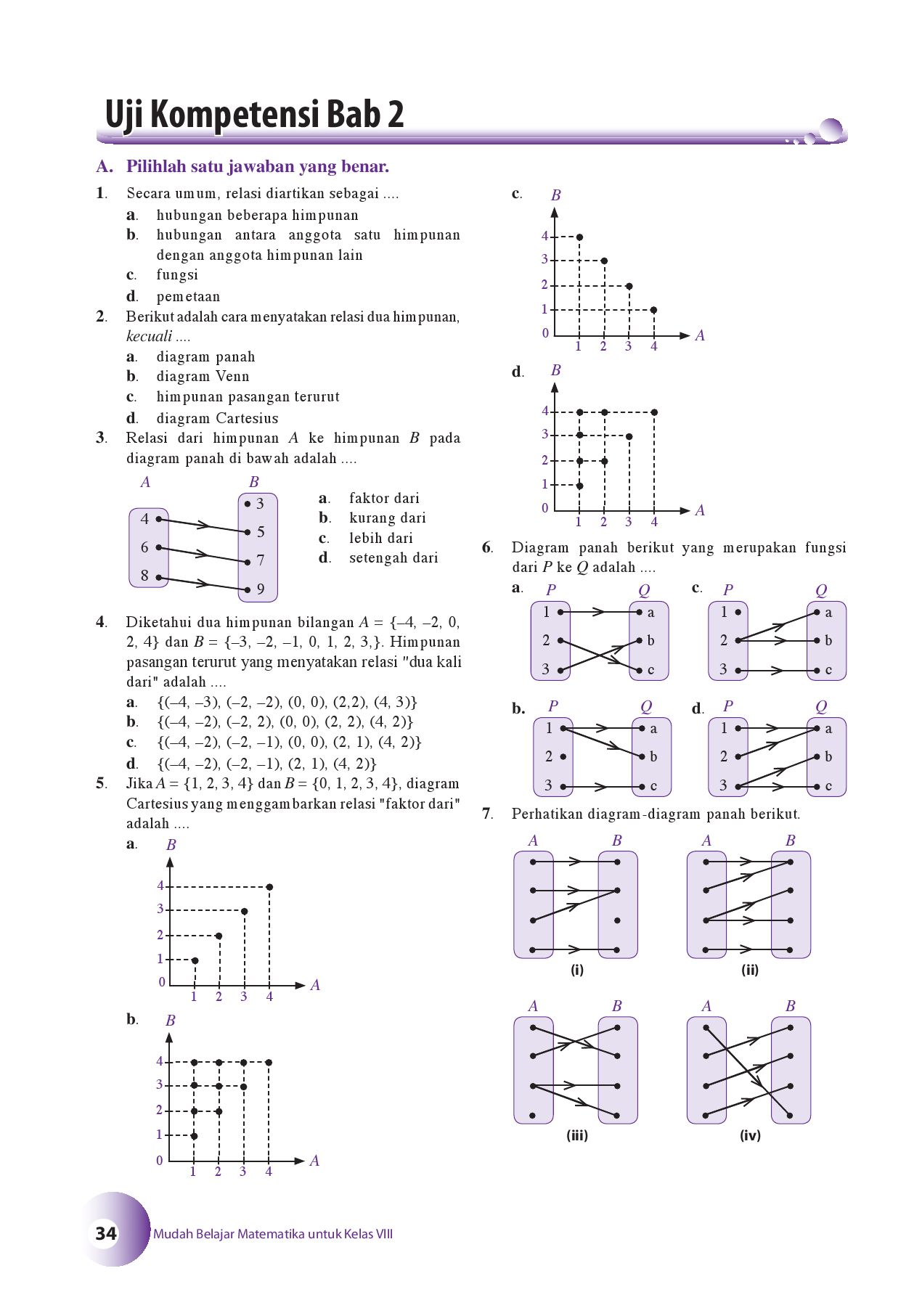 Kelas08mudah belajar matematikanuniek by s van selagan issuu ccuart Choice Image